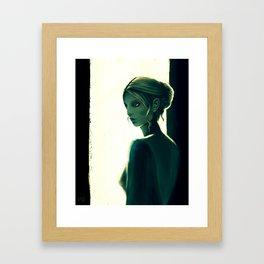 Quiet Sun  Framed Art Print