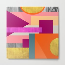 Abstractions No. 1 Metal Print