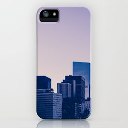 New York City Manhattan skyline panorama iPhone Case