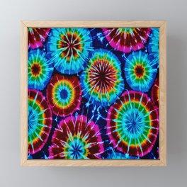 Tie Dye Framed Mini Art Print