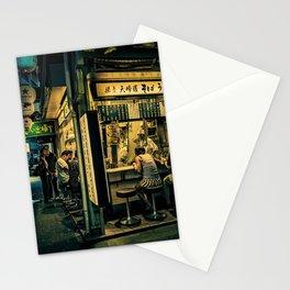 Late Night Scene/ Anthony Presley Photo Print Stationery Cards