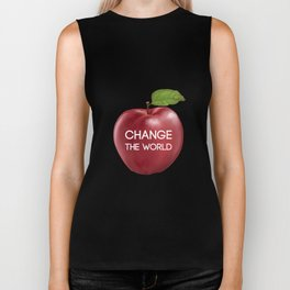 Apple Change the World Biker Tank