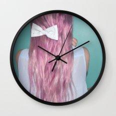 Nebula Girl Wall Clock