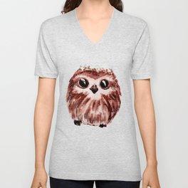 little owl - petite chouette Unisex V-Neck