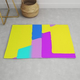 painted picture beautiful Rug