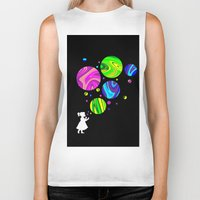 bubbles Biker Tanks featuring Bubbles by Finlay McNevin