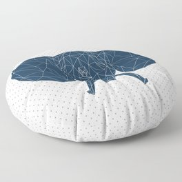 Faceted Elephant Floor Pillow
