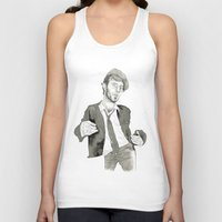 tom waits Tank Tops featuring Tom Waits: The Early Years by Andy Christofi