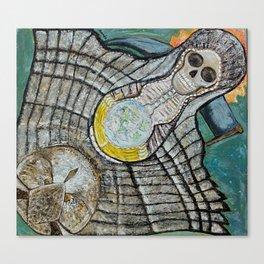 Riendo's Santa Muerte Canvas Print