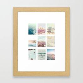 California Dream 9 Photo Print Framed Art Print