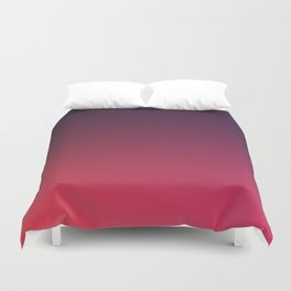DEEP DISTILLED - Minimal Plain Soft Mood Color Blend Prints Duvet Cover