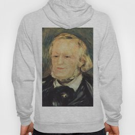 Richard Wagner (1813 – 1883) by Auguste Renoir (1841 - 1919) in 1882 Hoody