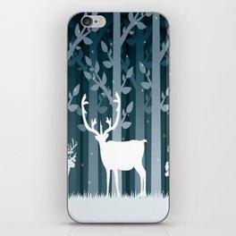 Snow Caribou iPhone Skin