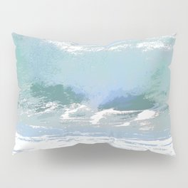 Pastel Wave Pillow Sham