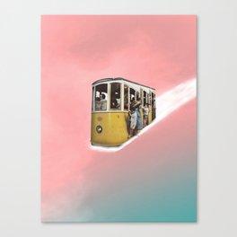 All around the world. Canvas Print
