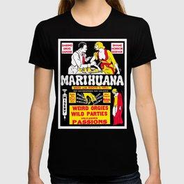 Marijuana Poster (Reefer Madness) T-shirt