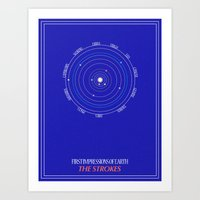 astrology Art Prints featuring ASTROLOGY by Strange City