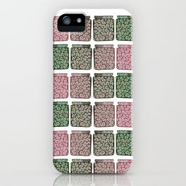 Think outside the jar iPhone Case