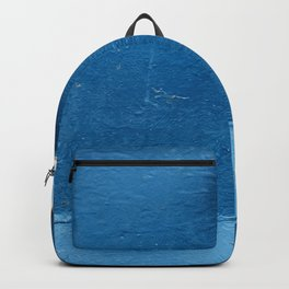 blue boat detail Backpack