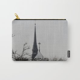 Spire in Snow Carry-All Pouch