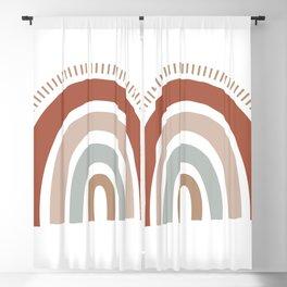 Little Rainbow Dreams Blackout Curtain