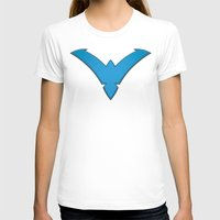 nightwing T-shirts featuring Nightwing Blue by Julian Rhys