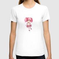 madoka magica T-shirts featuring Madoka Kaname by Nozubozu