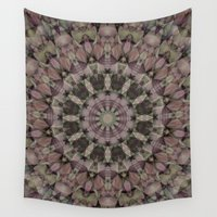 antique Wall Tapestries featuring Antique Country by Deborah Janke