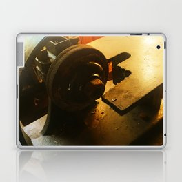 Vintage machine 7 Laptop & iPad Skin