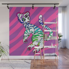 Clairvoyant Tiger Cub Wall Mural