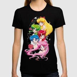 Sailor Senshi - Uncovered (Original Color Edition) T-shirt