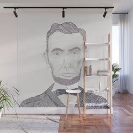 Mr. Lincoln Wall Mural