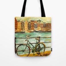 Going Dutch (yellow) Tote Bag
