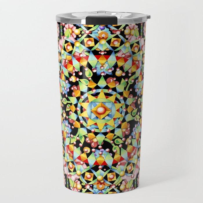 Flower Crown Bohemian Travel Mug