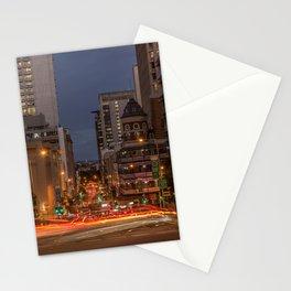 Peak Hour City Traffic Stationery Cards