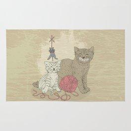 Naughty Cats Rug