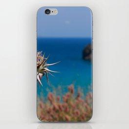 CretanThistle And Sea iPhone Skin