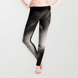 A light in the Black Floral Design Leggings