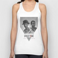 watch Tank Tops featuring Inspector Spacetime  by Sam Spratt