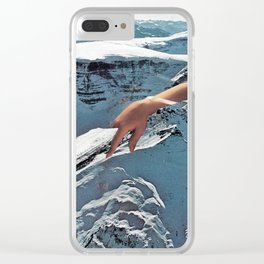 Handy 02 Clear iPhone Case