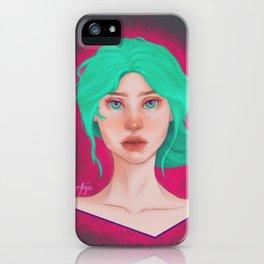 Heart Eyes iPhone Case
