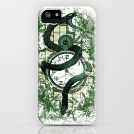 Hissing Time Away iPhone Case