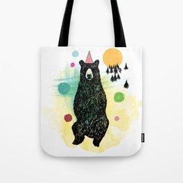 Bear Scape Tote Bag