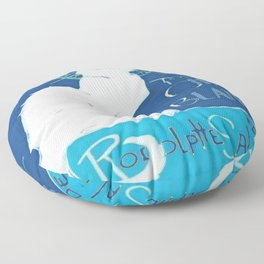 Le Chat Blanc Floor Pillow