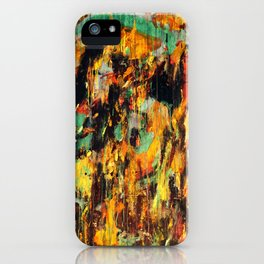 Untitled Abstract - Taunting Jester iPhone Case