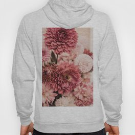 Pink Flowers Pastel Photography in HD Hoody
