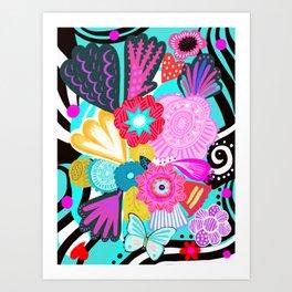 Viva la Primavera Art Print