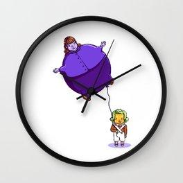 Too Much Bubblegum Wall Clock