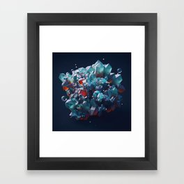 Crystalline Framed Art Print