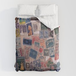 20th Century through stamps Comforters